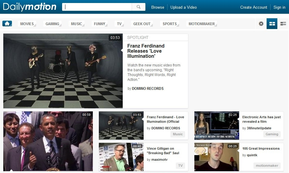 Dailymotion - Top Video Sharing Website 2020