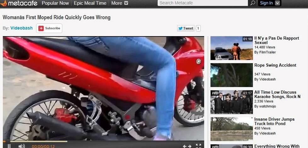 Metacafe - Top Video Sharing Websites 2020