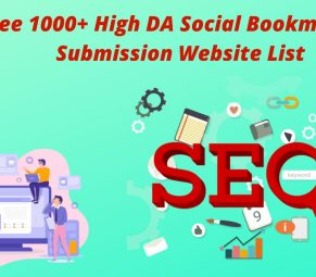 Free 1000+ High DA Social Bookmarking Submission Website List 2020
